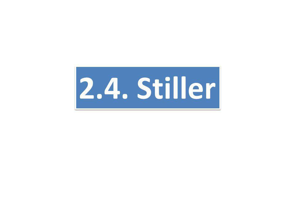 2.4. Stiller