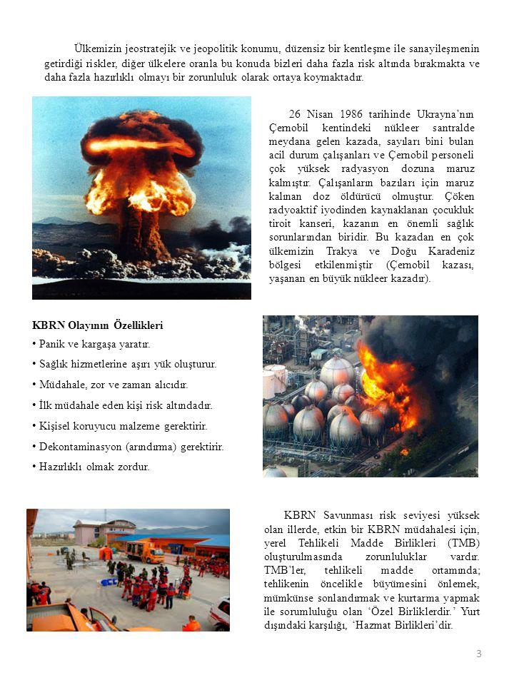 26 Nisan 1986 tarihinde Ukrayna'nın Çernobil kentindeki nükleer santralde meydana gelen kazada, sayıları bini bulan acil durum çalışanları ve Çernobil