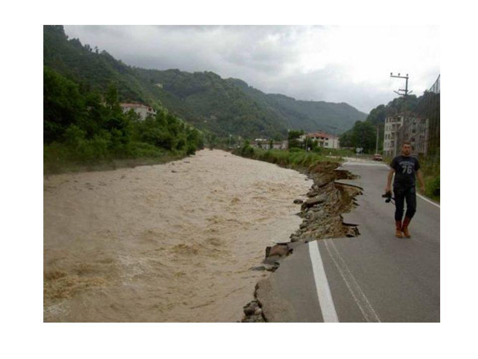  Aşırı yağmur sonrası oluşan su taşkınlarına sel denir.