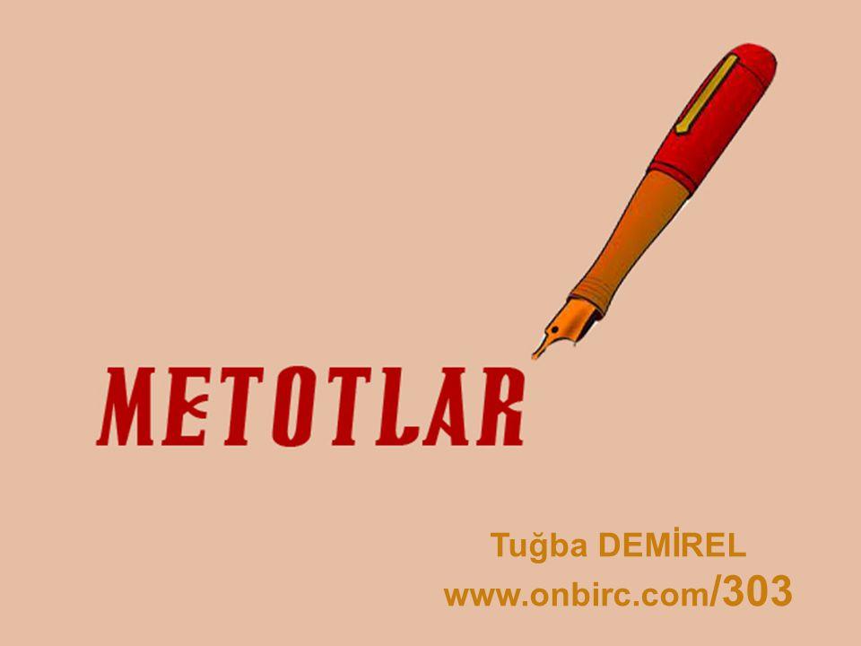 Tuğba DEMİREL www.onbirc.com /303