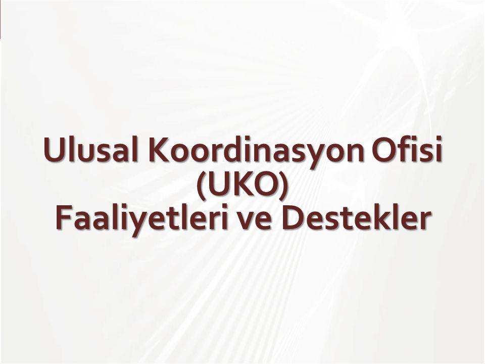 TÜBİTAK Ulusal Koordinasyon Ofisi (UKO) Faaliyetleri ve Destekler