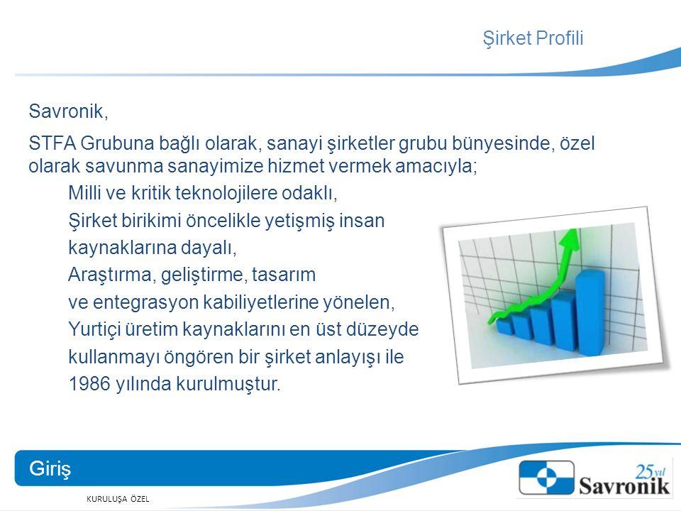 KURULUŞA ÖZEL Şirket Profili Ankara Mustafa Kemal Mah.