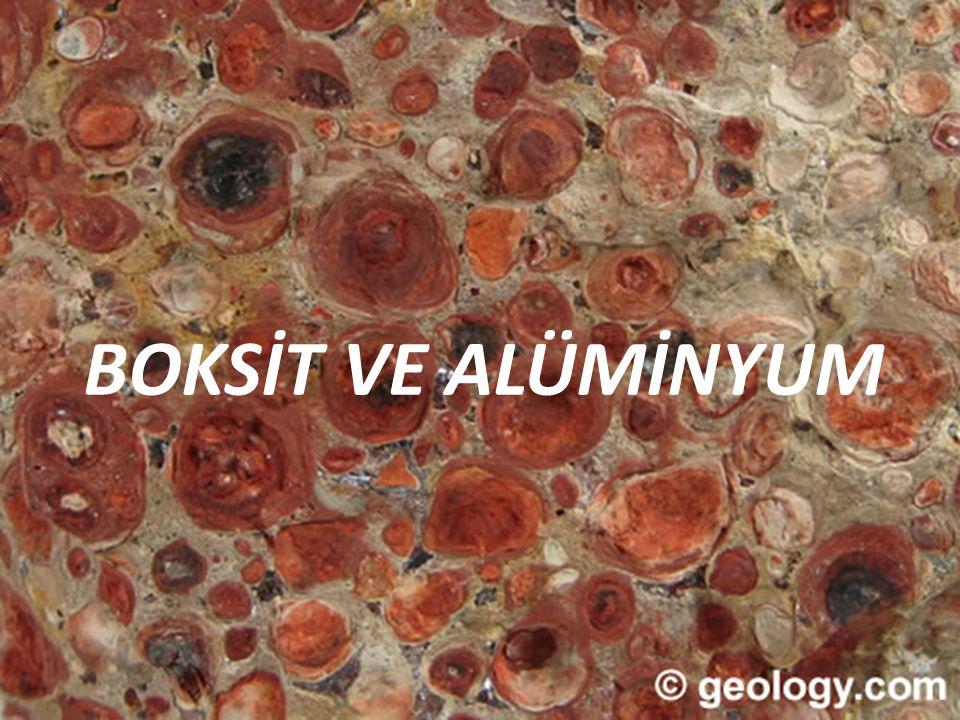BOKSİT VE ALÜMİNYUM