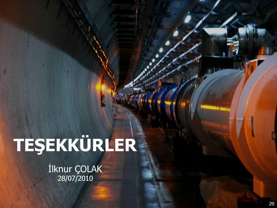 20 TEŞEKKÜRLER İlknur ÇOLAK 28/07/2010