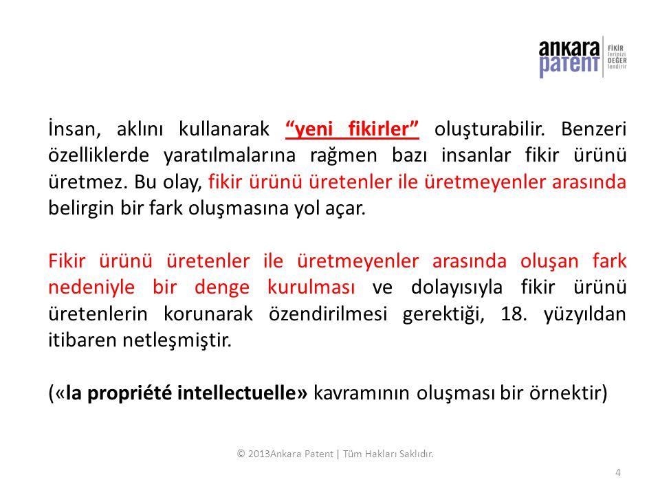 İnsan Akıl Fikir Ürün Sahip Haklar © 2013Ankara Patent | Tüm Hakları Saklıdır.