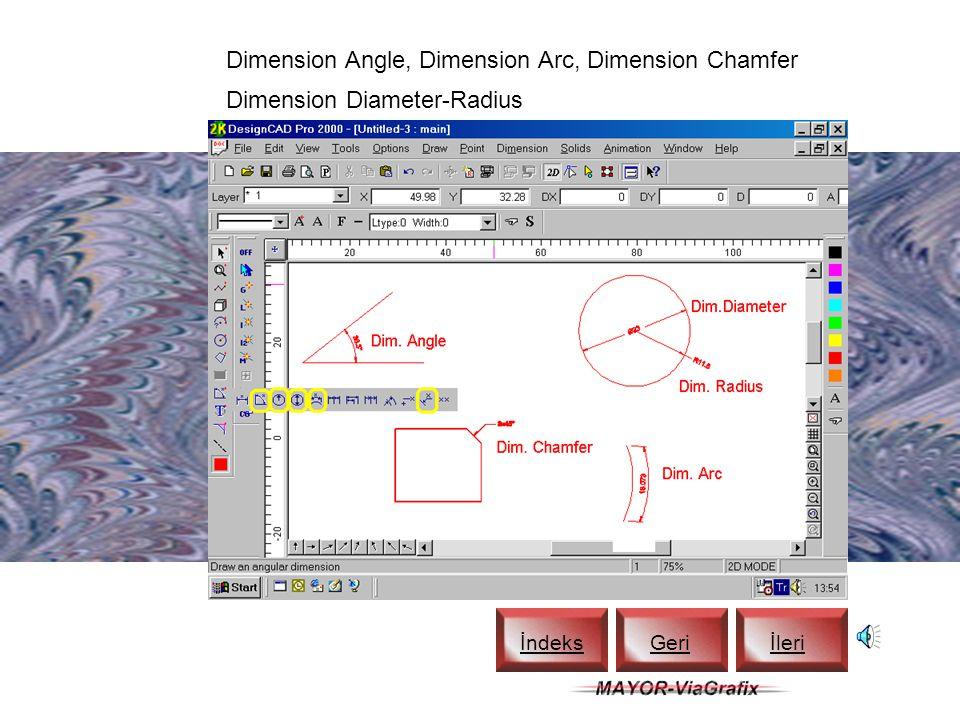 Dimension Extended, Dimension Baseline İndeks Geriİleri