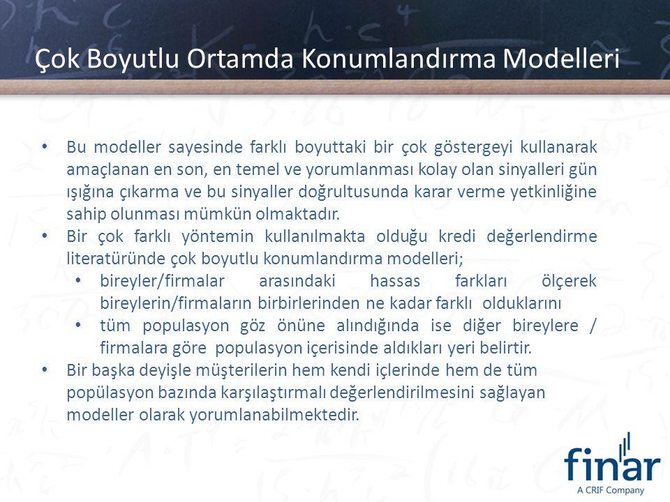 Çok Boyutlu Ortamda Konumlandırma Modelleri Türkiye Uygulaması – Finar - Çek Endeksi