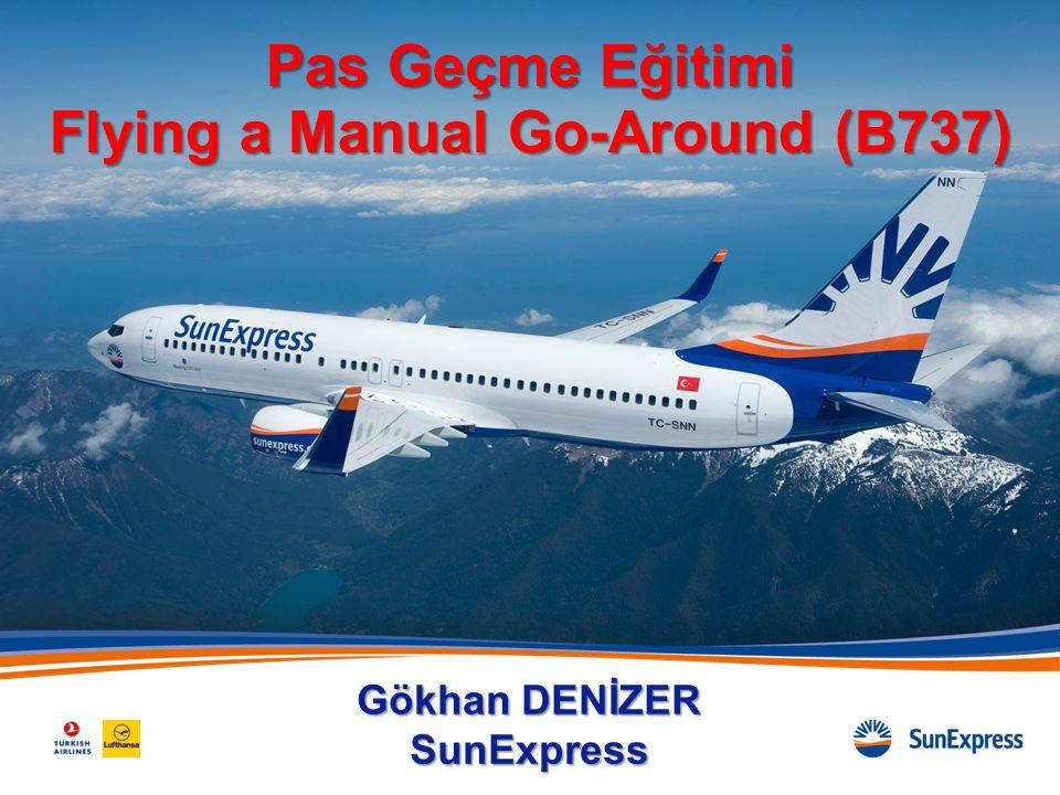 Sunuş Planı •Pas Geçme Eğitimi •Flying a Manual Go Around (B737)  B737 Go-Around Modları  FCOM Go-Around Usulleri  FCTM Go-Around Usulleri 2