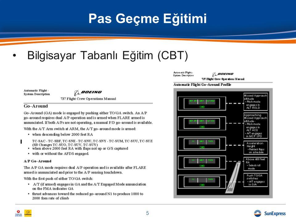 •Bilgisayar Tabanlı Eğitim (CBT) Pas Geçme Eğitimi 5