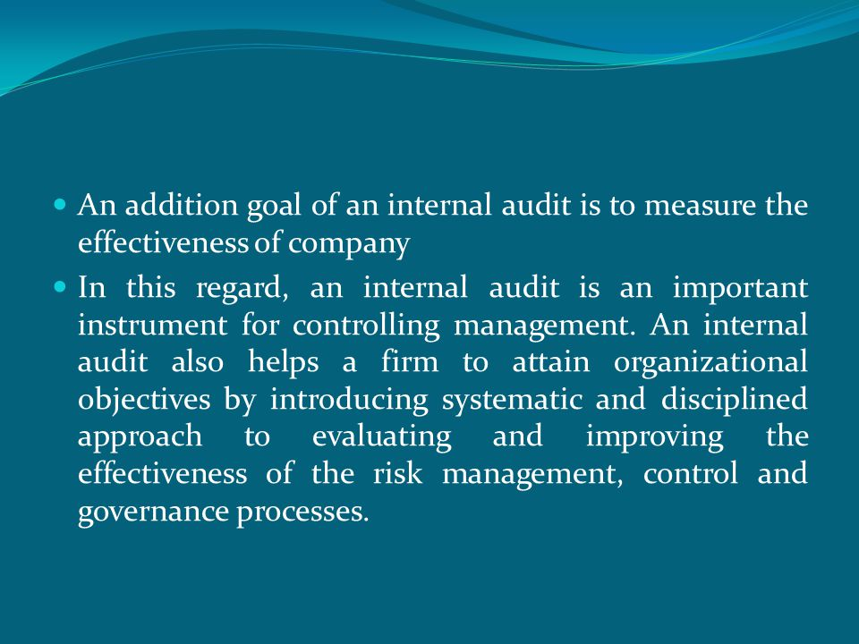  According to Banking Law 5411, which became affective on November, 01, 2005, banks have an obligation to establish and operate effective internal control and risk management, as well as an appropriate internal audit system.