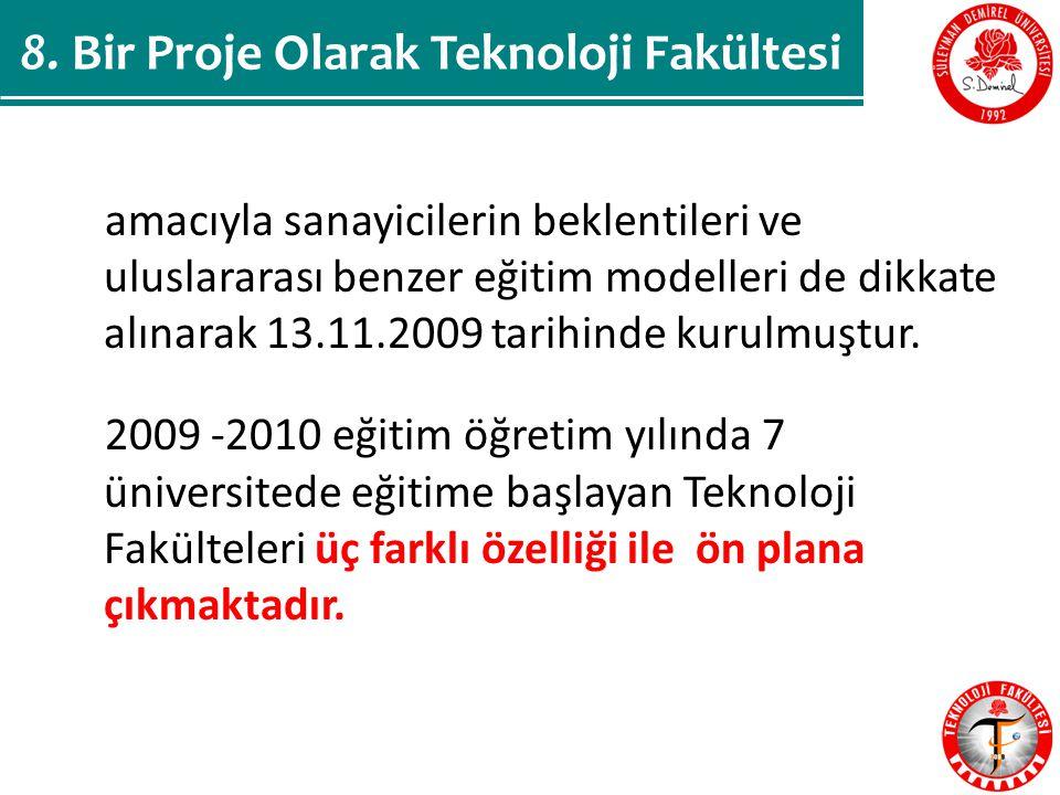 amacıyla sanayicilerin beklentileri ve uluslararası benzer eğitim modelleri de dikkate alınarak 13.11.2009 tarihinde kurulmuştur.