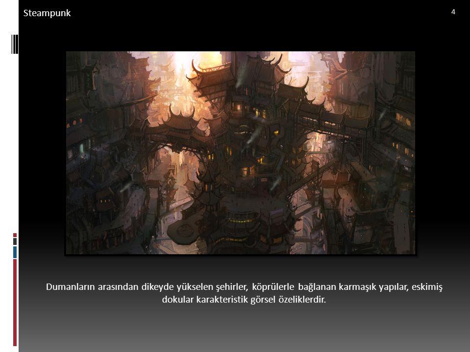 Steampunk Steampunk evreni sadece 19.