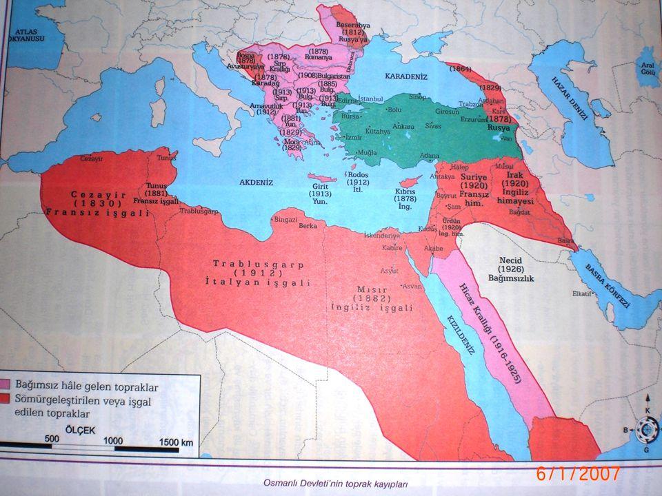 Sykes-Picot Antlaşması(1916)'na göre sınırlar Rusya'ya; Trabzon, Erzurum, Van ve Bitlis ile Güneydoğu Anadolu'nun bir kısmı, Fransa'ya; Doğu Akdeniz Bölgesi, Adana, Antep, Urfa, Diyarbakır, Musul ile Suriye kıyıları, İngiltere'ye Hayfa ve Akka limanları, Bağdat ile Irak'ın güneyi verilecektir.