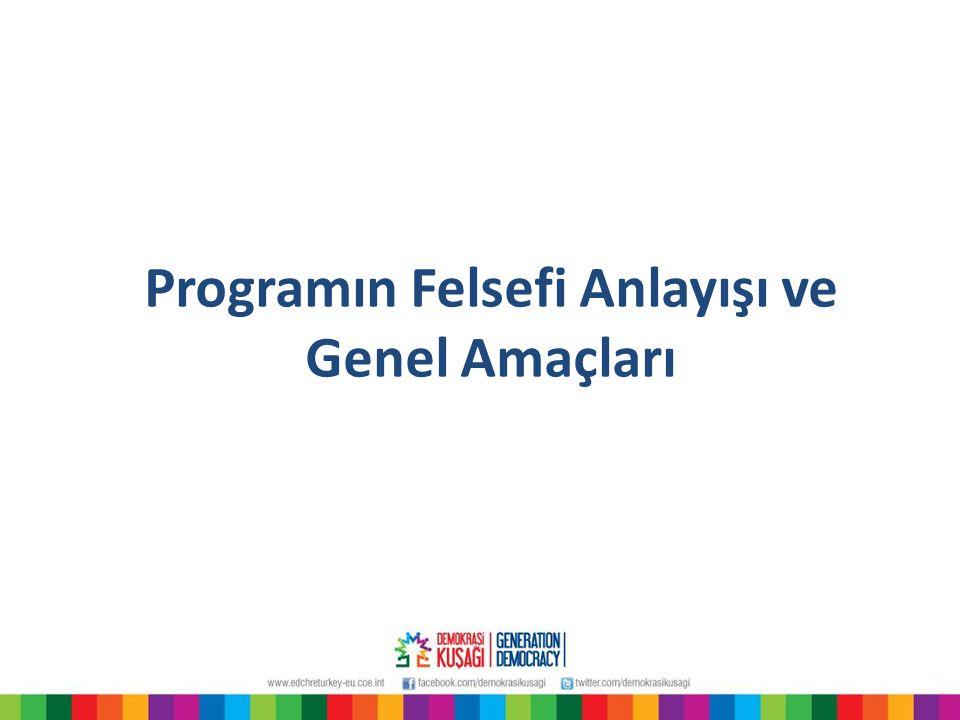 Programın Felsefi Anlayışı ve Genel Amaçları