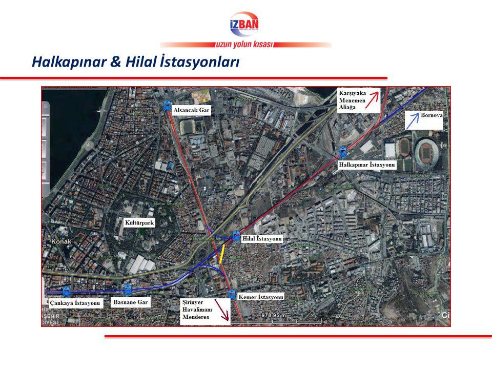 Halkapınar & Hilal İstasyonları