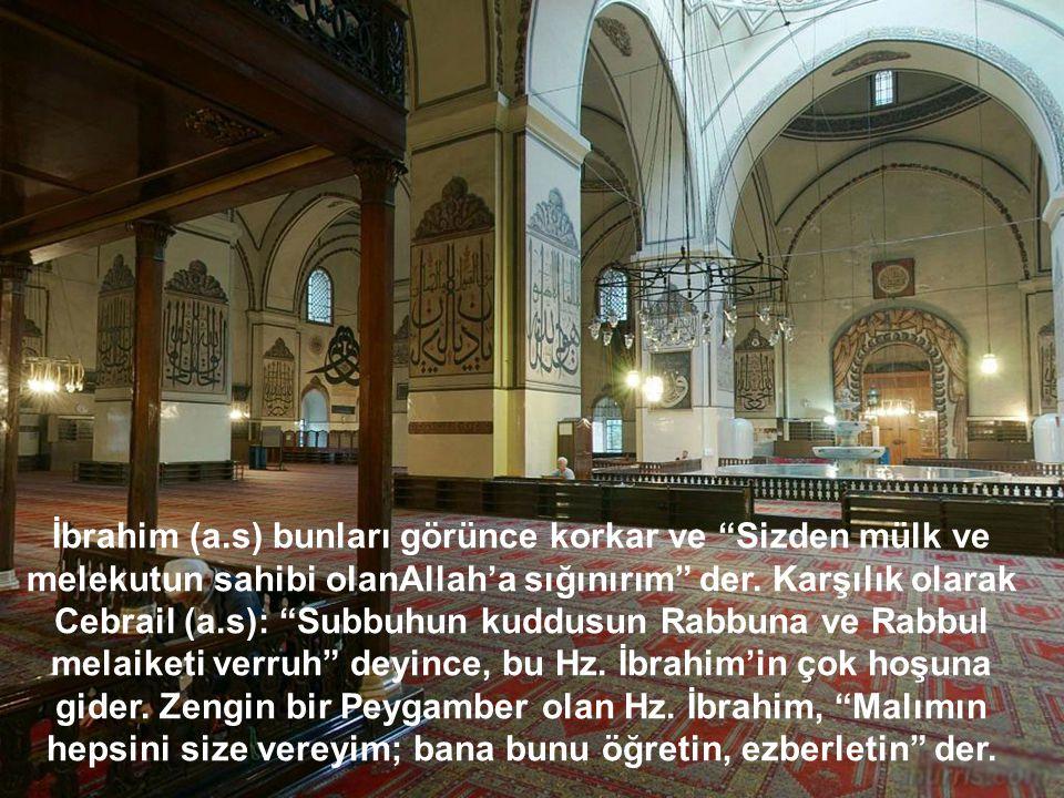 İbrahim (a.s) büyük peygamberlerdendir.
