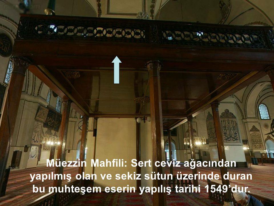 Bu ulu mabedin fazilet açısından 5. makam derecesinde olduğu rivayet edilir.