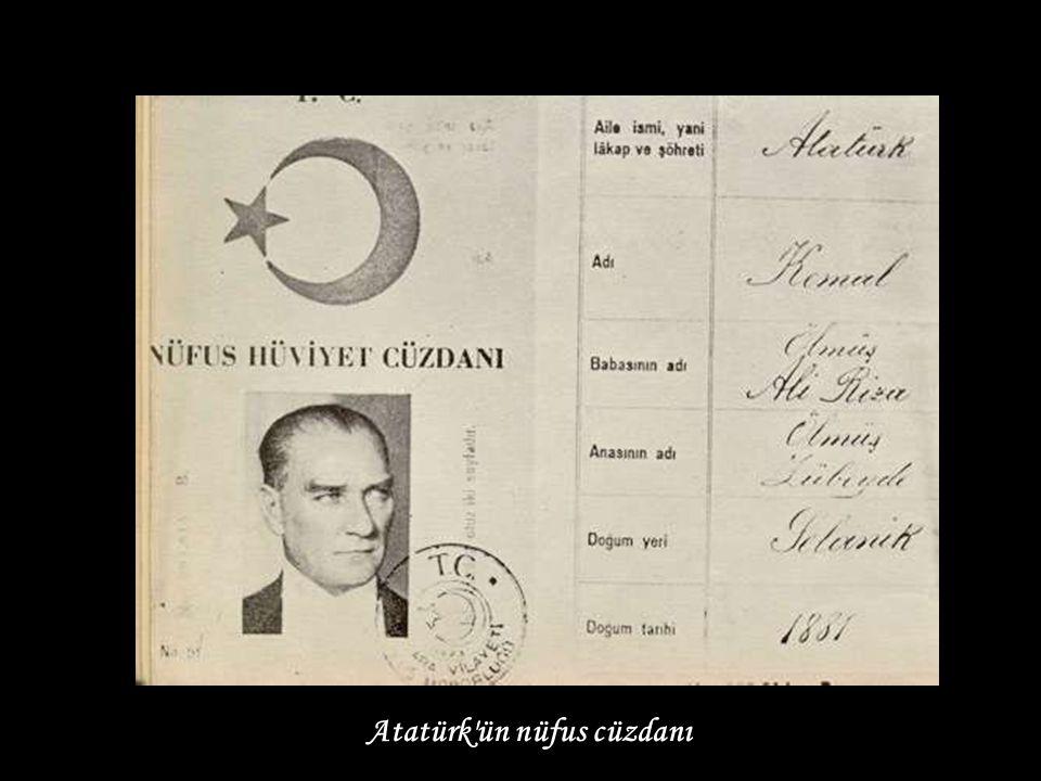 Atatürk İnönü Cephesinde incelemede (1921)