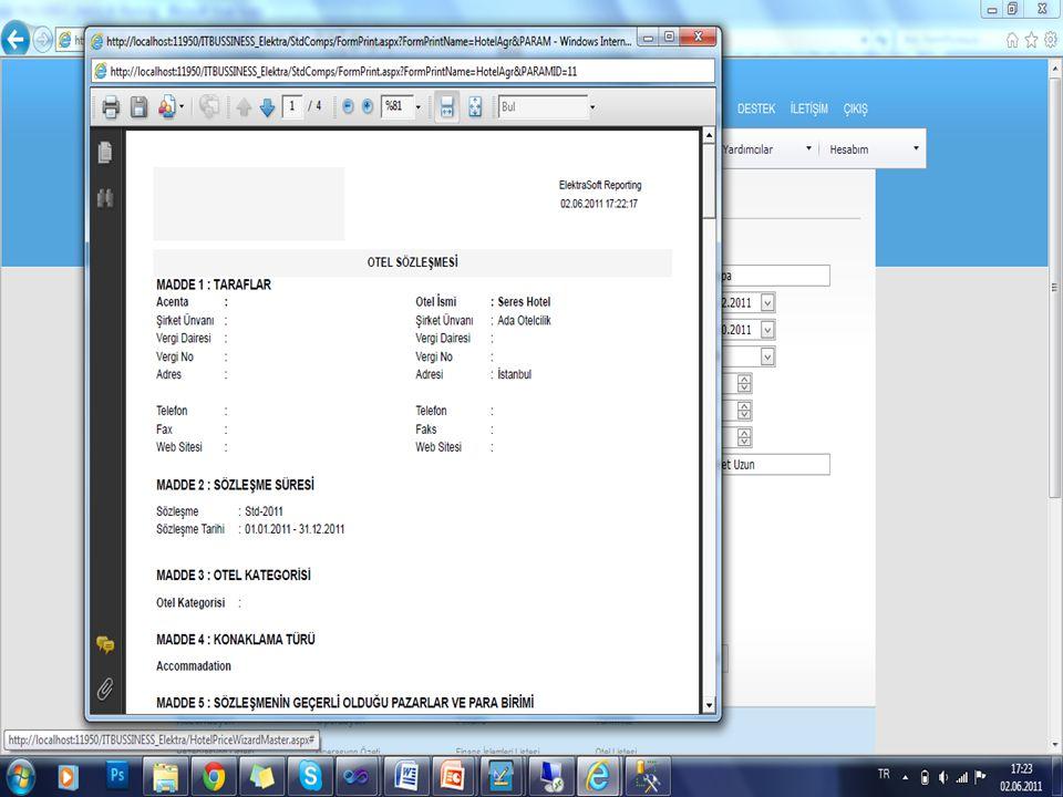 Tüm işlemlerin sonunda sözleşme web sayfasından bastırılabilir.