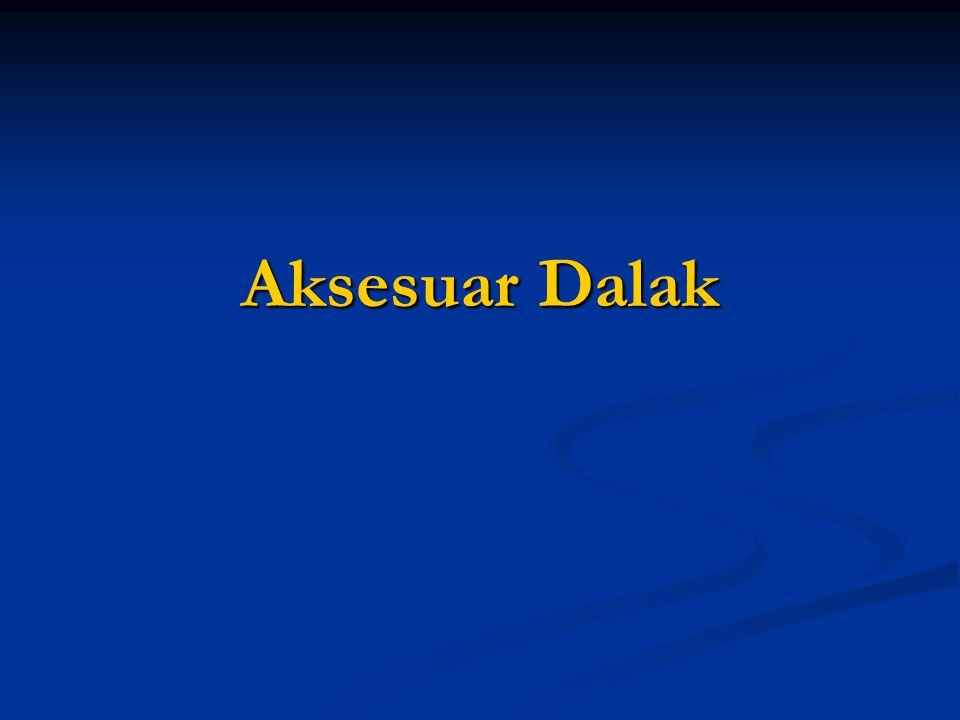 Aksesuar Dalak