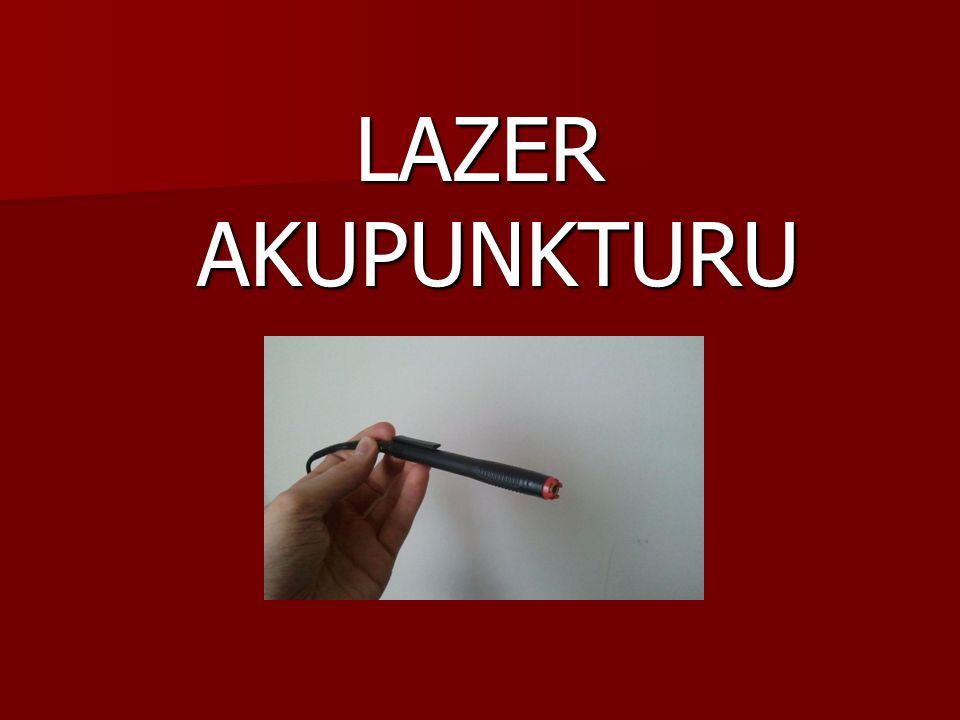  Lazerler tıpta ilk olarak 60'lı yılların başında cerrahide kullanılmaya başlandı.