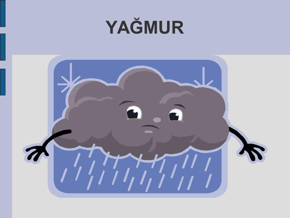 Buhar-Bulut oluşur.  Oluşan bulut yükselmeye bağlı olarak soğur ve yoğuşur.