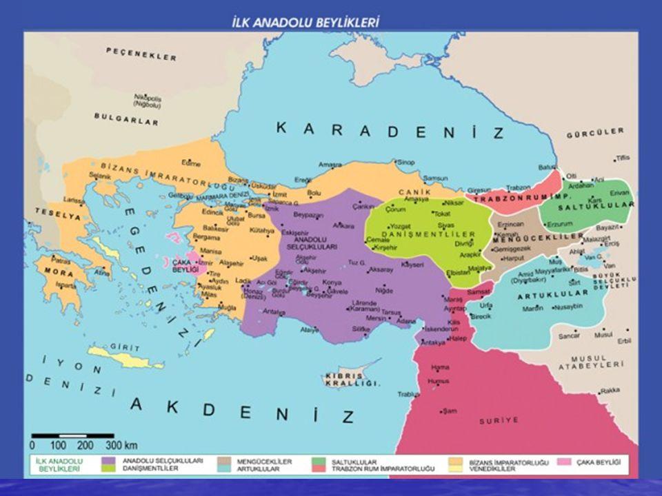 Türklerden Önce Anadolu'nun Durumu Danişmentliler: