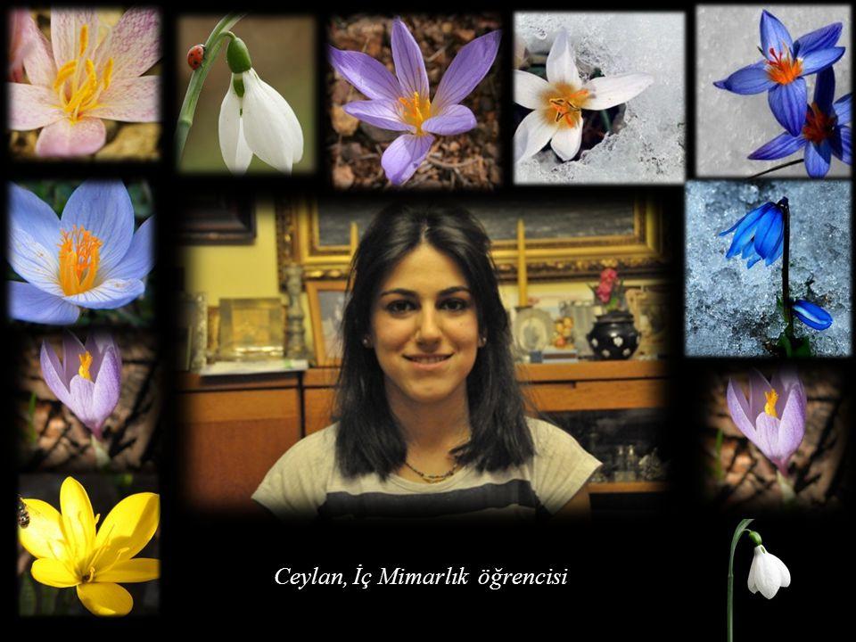 Berin; Kimya Fakültesi öğrencisi