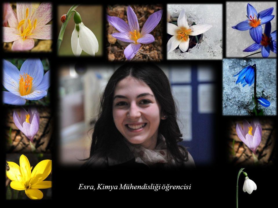 Esma, Gıda Mühendisliği öğrencisi