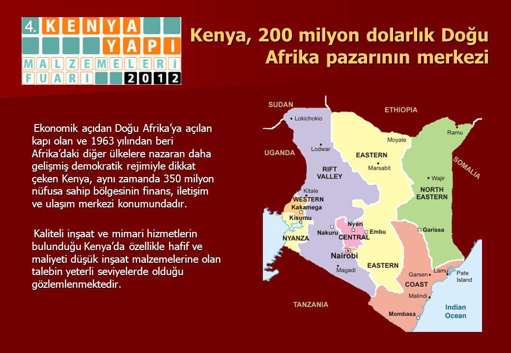 Ekonomik açıdan Doğu Afrika'ya açılan kapı olan ve 1963 yılından beri Afrika'daki diğer ülkelere nazaran daha gelişmiş demokratik rejimiyle dikkat çek