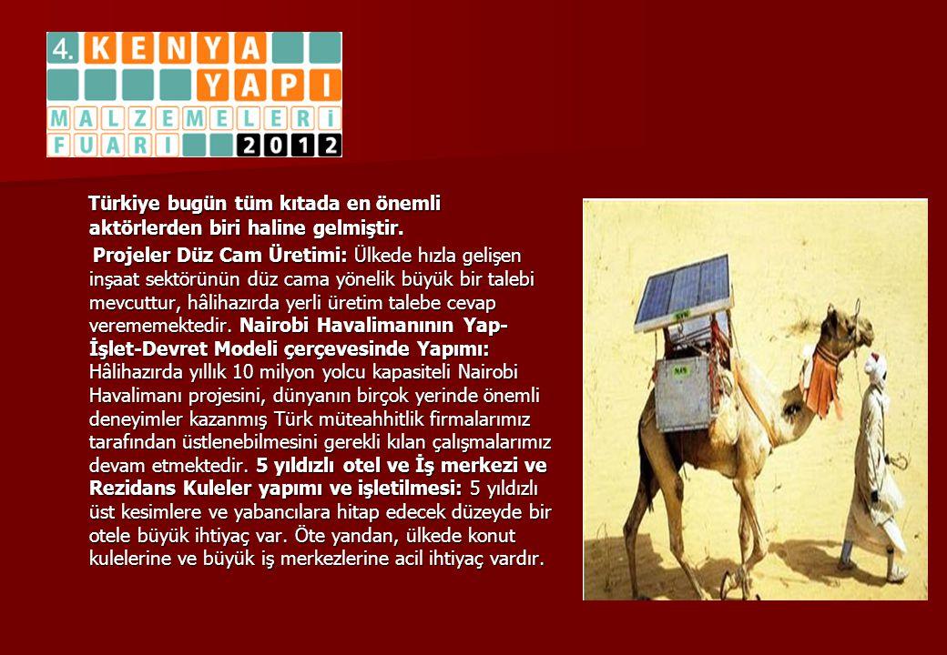 Türkiye bugün tüm kıtada en önemli aktörlerden biri haline gelmiştir. Türkiye bugün tüm kıtada en önemli aktörlerden biri haline gelmiştir. Projeler D
