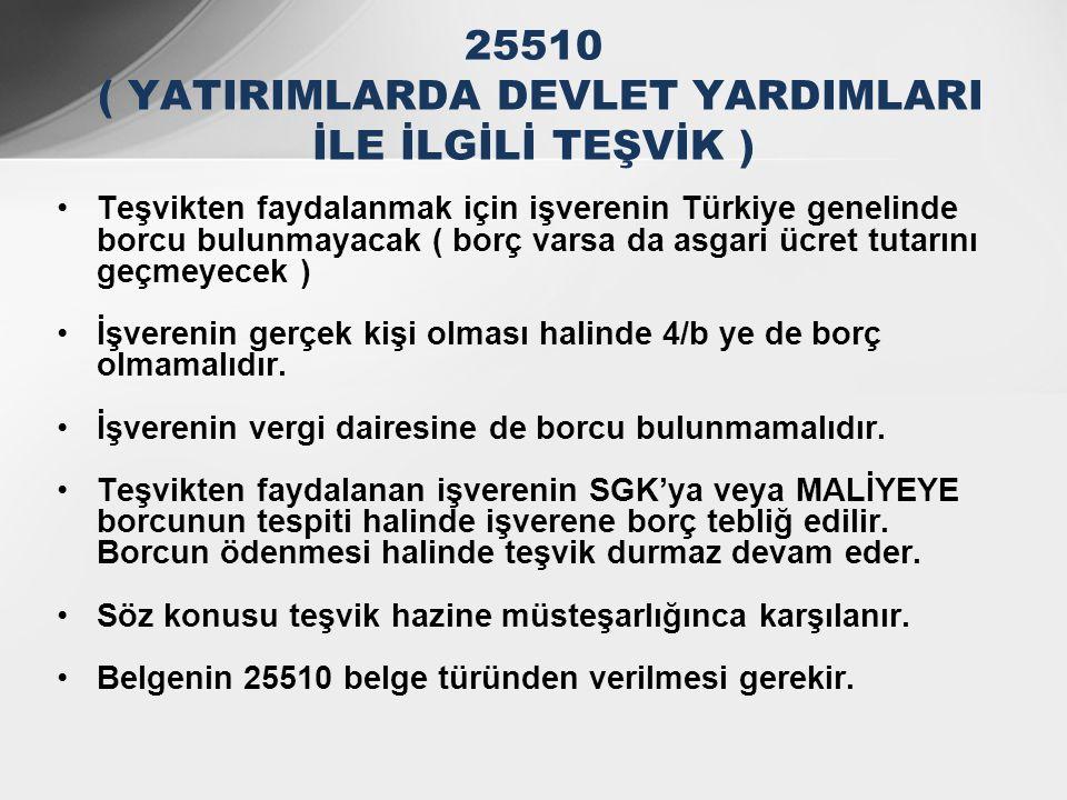 •Teşvikten faydalanmak için işverenin Türkiye genelinde borcu bulunmayacak ( borç varsa da asgari ücret tutarını geçmeyecek ) •İşverenin gerçek kişi o