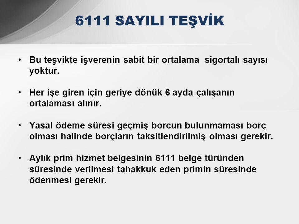 •Teşvikten faydalanmak için işverenin Türkiye genelinde borcu bulunmayacak ( borç varsa da asgari ücret tutarını geçmeyecek ) •İşverenin gerçek kişi olması halinde 4/b ye de borç olmamalıdır.