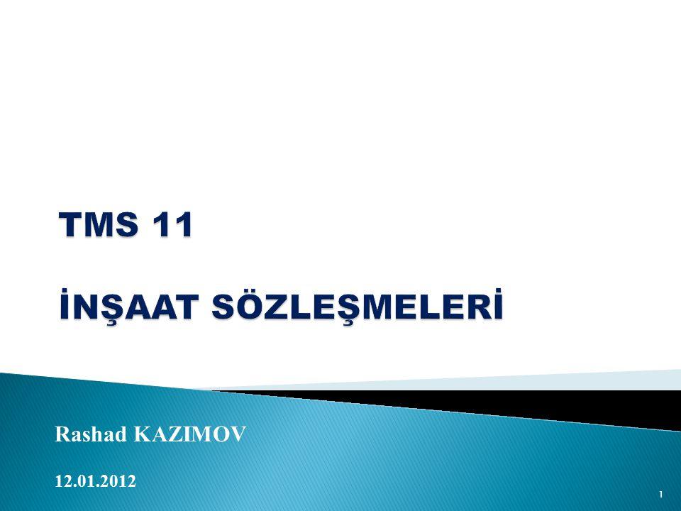 Rashad KAZIMOV 12.01.2012 1