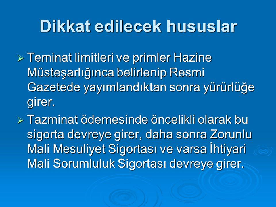 Zorunlu Karayolu Taşımacılık Mali Sorumluluk Sigortası  Sigorta şirketleri sigorta sözleşmesi ile birlikte Türkiye Sigorta ve Reasürans Şirketleri Birliğince bastırılan Taşımacı Sorumluluk Sigortası Belgesini sigortalıya vermek zorundadırlar.