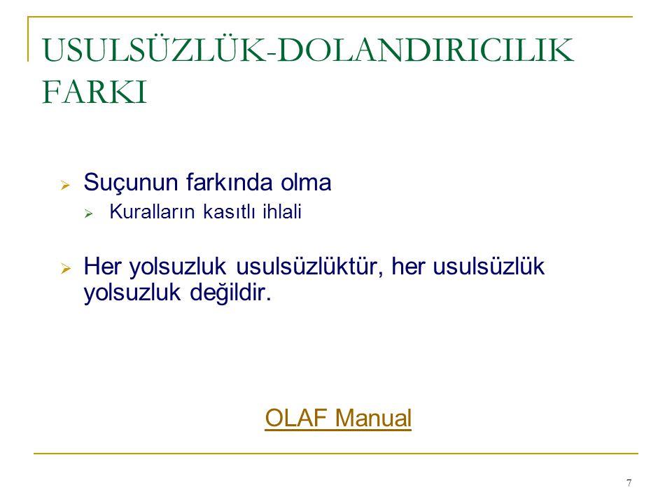 48 RAPORLAMA YÜKÜMLÜLÜĞÜ  Council Regulation (EC) No.