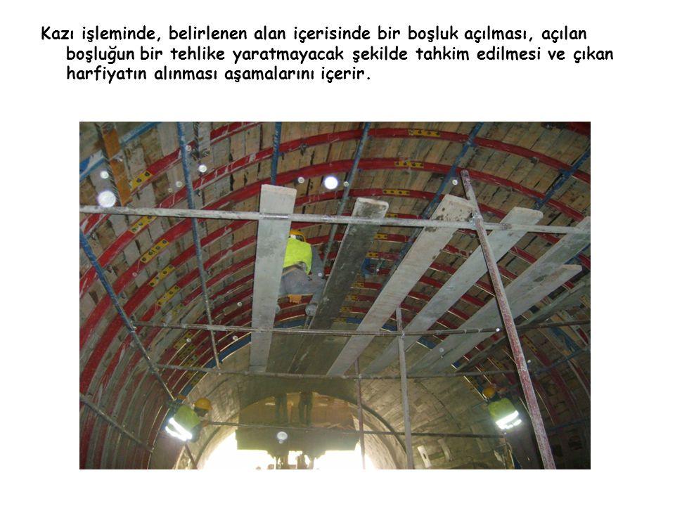 Tünel inşaat işlerinde yangın, su baskınları, patlamalar, göçükler gibi toplu ölümlere neden olabilecek bir çok tehlikeyi barındırmaktadır.