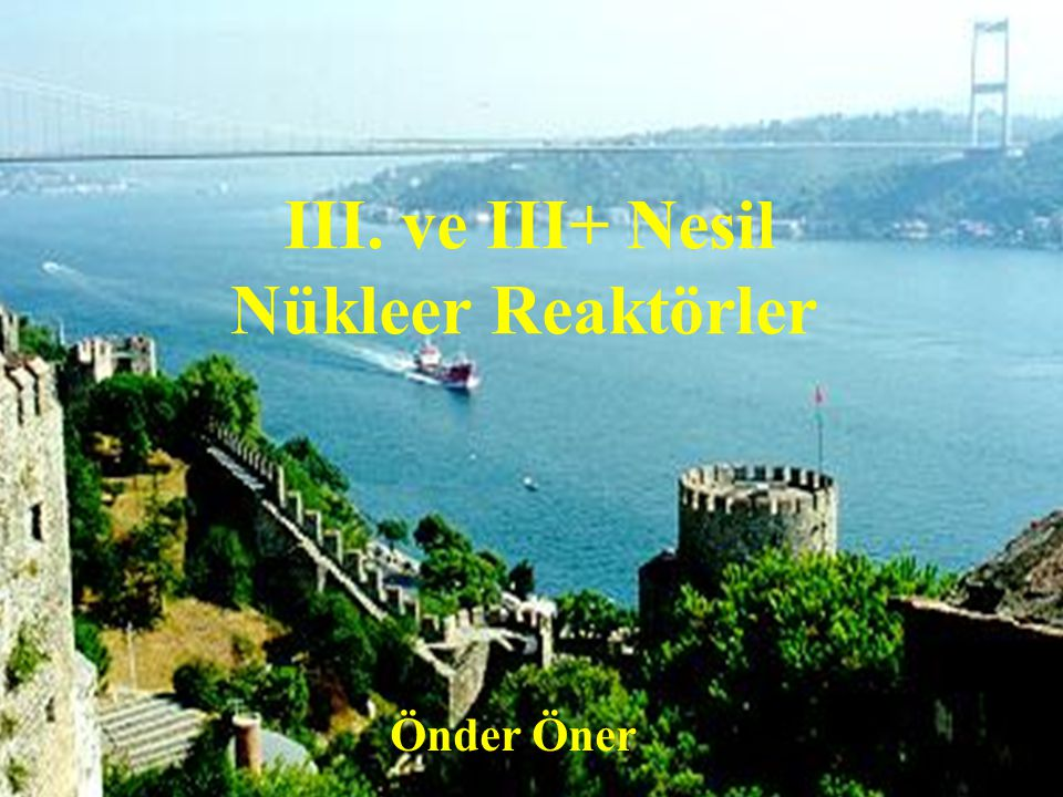 1 Nuclear Power Program of Turkey Turkish Electricity Autority (TEK) was the state own company responsible for construction and operation of the Nucle