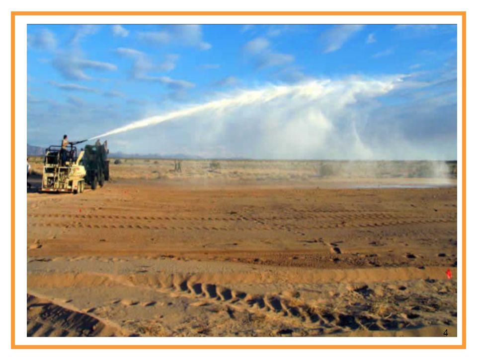 Uygulama da deneyler 1 km'lik alan içerisinde 60 km/saat hızla giden bir araçta toplanan toz numunelerine göre yapılmıştır.