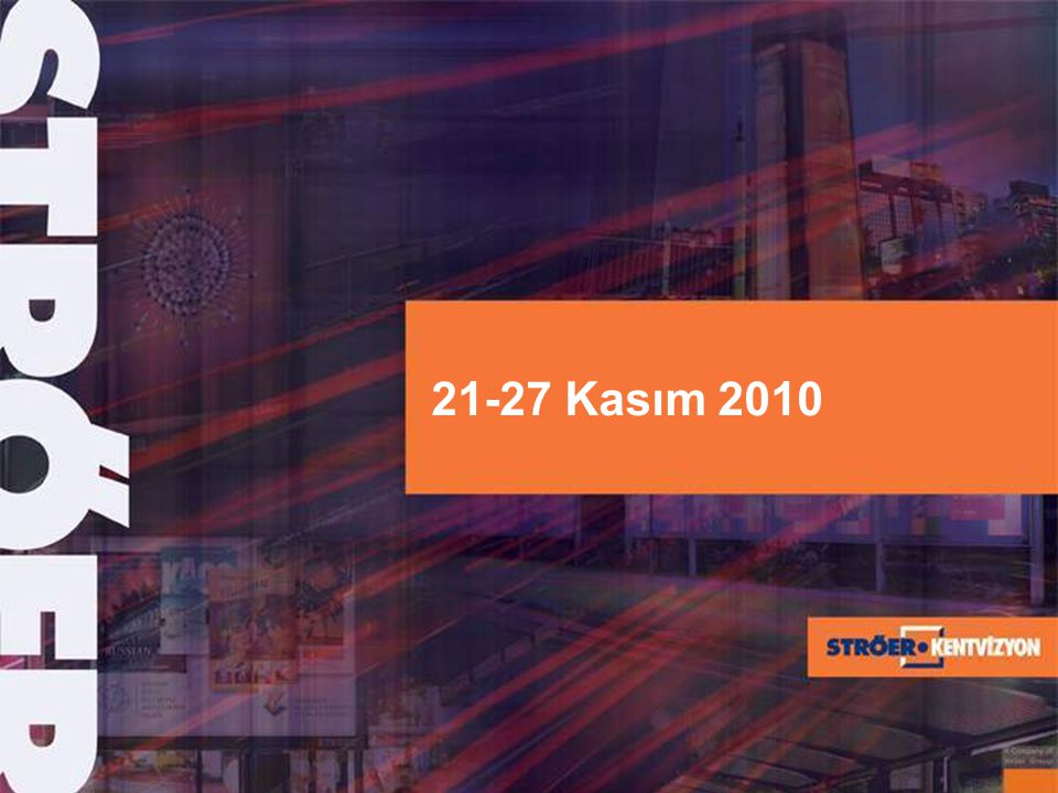 Vestel Kullanılan Ürün :ADML, BB, CLP Kullanılan Bölgeler :Ankara, İstanbul, İzmir
