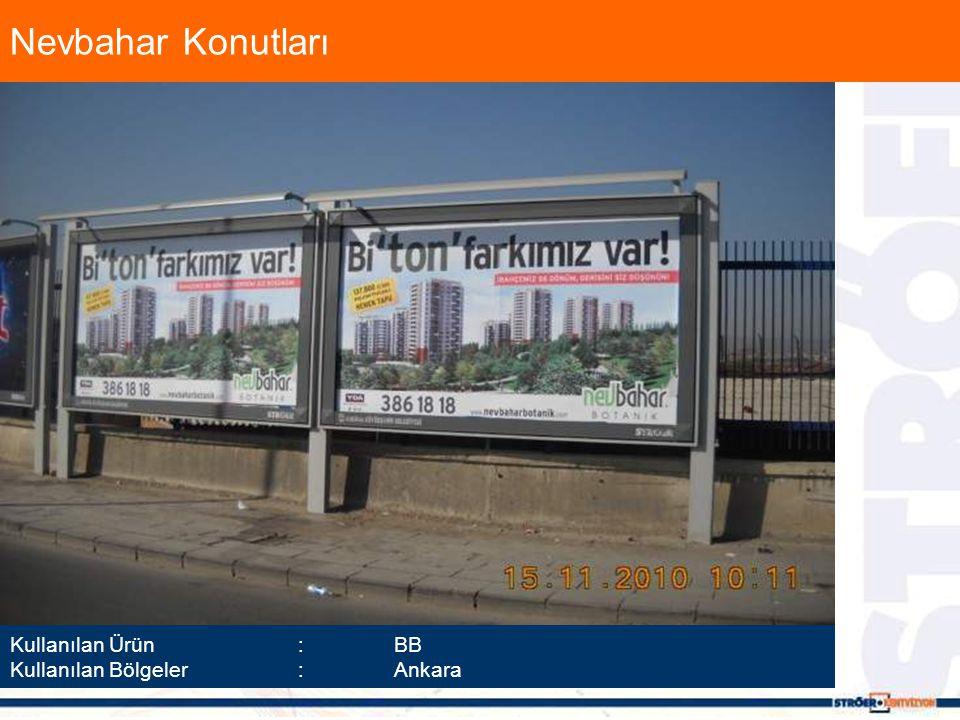 Nevbahar Konutları Kullanılan Ürün :BB Kullanılan Bölgeler :Ankara
