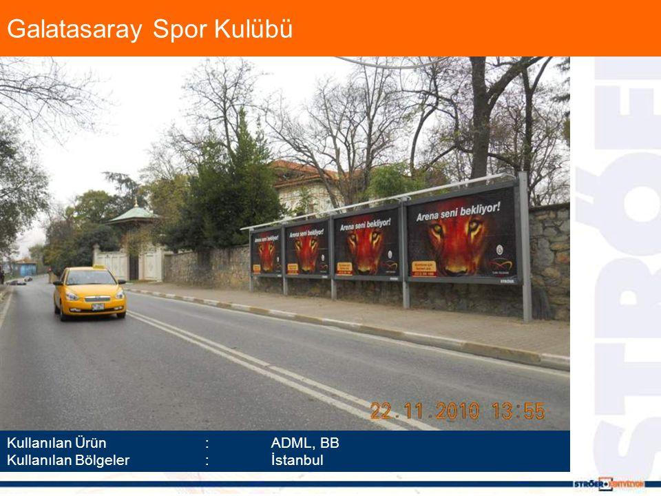 Kullanılan Ürün :ADML, BB Kullanılan Bölgeler :İstanbul