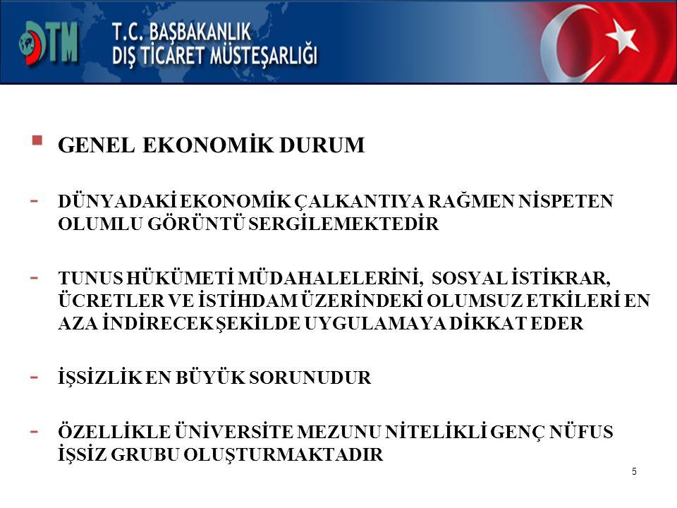 6  GENEL EKONOMİK DURUM  KALKINMA PLANLARI: - 1997-2001 IX.