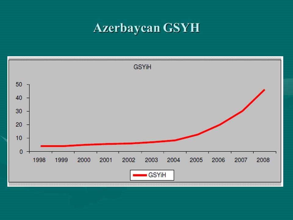 • •Bu gelişmeler ışığında Azerbaycan'da ön plana çıkan ve yabancı yatırımcılar için önemli potansiyel arz eden sektörler şunlardır: • •Bilişim: Dijital telefon sistemleri, postanelerin modernizasyonu, yazılım ve donanım üretimi, güvenlik sistemleri, özelleştirmeler.