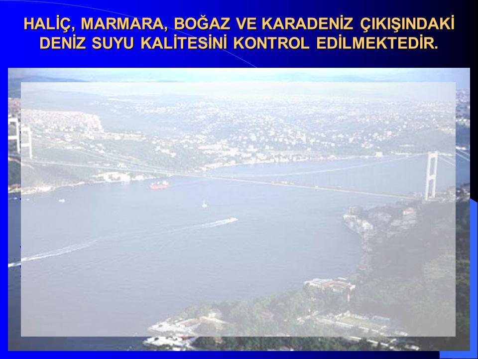 33 HALİÇ, MARMARA, BOĞAZ VE KARADENİZ ÇIKIŞINDAKİ DENİZ SUYU KALİTESİNİ KONTROL EDİLMEKTEDİR.  Su Kalitesi İzleme Çalışması; İstanbul Üniversitesi De
