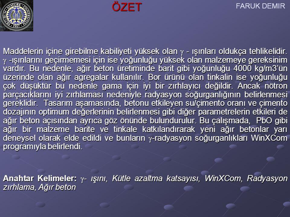 Bu çalışma Tübitak tarafından 107 T 199 nolu proje tarafından desteklenmektedir.