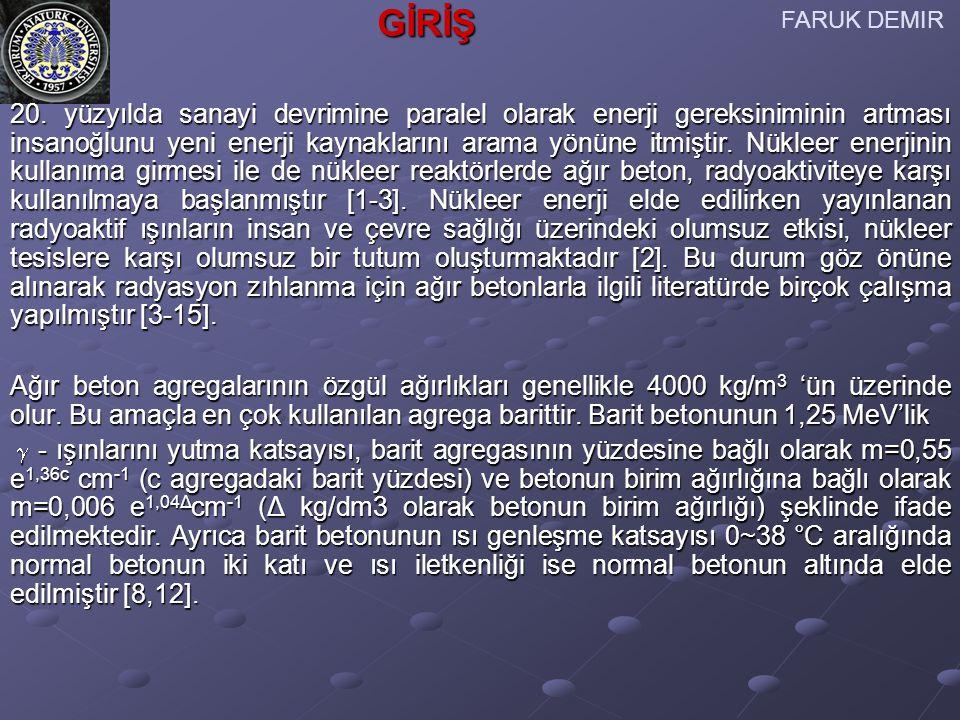 [1] S.Akman, Yapı Malzemeleri, İ.T.Ü. İnşaat Fakültesi Matbaası, İstanbul (1987).