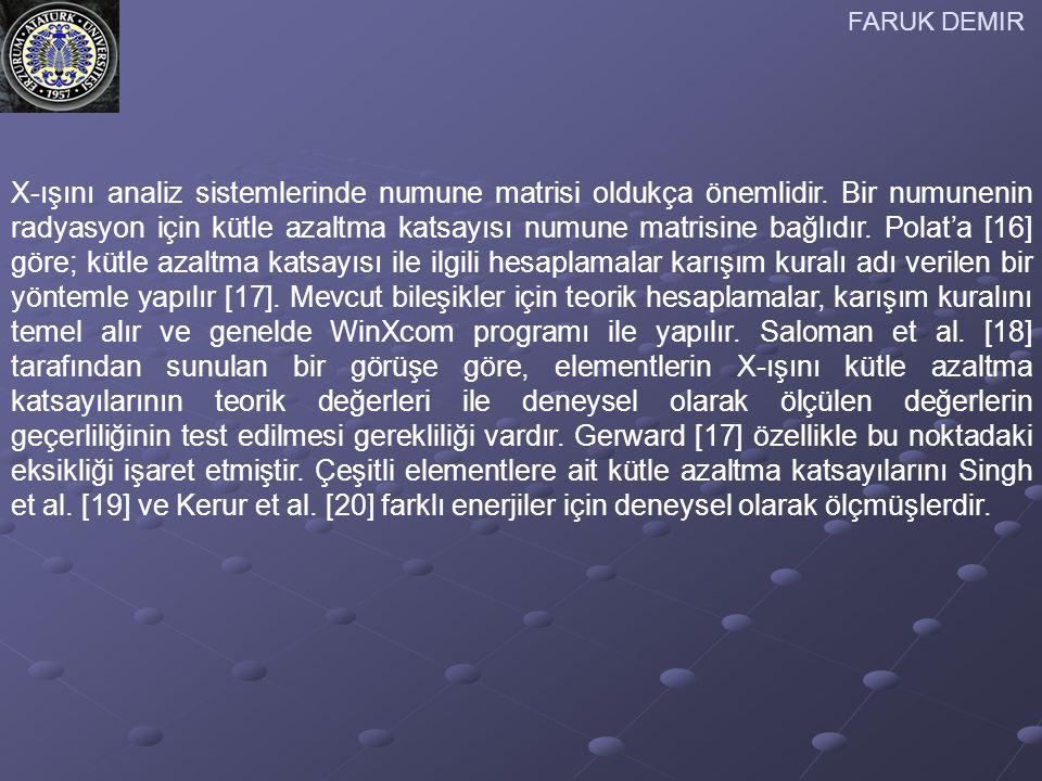 FARUK DEMIR [ 13] İ.Akkurt, Ş. Kılınçarslan ve C.