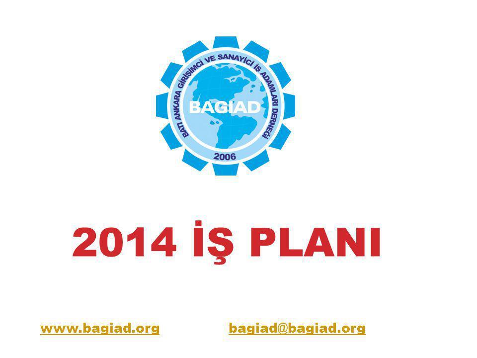 2014 İŞ PLANI KOBİ-SANAYİ-KENT VE ÜLKE DUYARLILIĞI : KOBİ'ler için Sanayi politikalarına taraf olma.