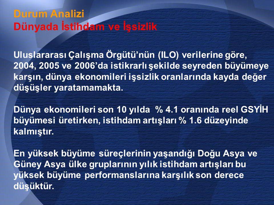 67 İstanbul'a Yönelen Göçün Kontrol Altına Alınması  İstanbul'a göç veren yörelerimizde mevcut ekonomik potansiyel ve gelişme imkanlarının değerlendirilerek bölgesel düzeyde istihdamı artırıcı projelerin geliştirilmesi  İstanbul'a yakın (Adapazarı, Çorlu, Düzce, Lüleburgaz, Yalova ve Bursa dolaylarında) yeni çekim alanları oluşturulması.